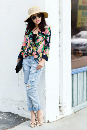 Anthropologie blazer - One Teaspoon jeans - Steve Madden heels