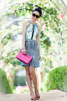 Parker dress - Valentino bag - Tom Ford sunglasses