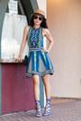 Torn-dress-schutz-heels