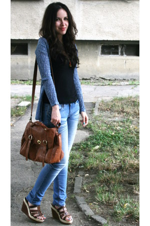 dark brown Meli Mel bag