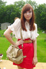 Brown-wet-seal-shoes-red-dynamite-skirt-white-sirens-blouse-beige-aldo-pur