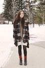 Brown-chicwish-coat-light-brown-chicwish-scarf-burnt-orange-tabbisocks-socks