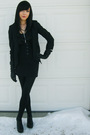 Black-sirens-blazer-black-jeffrey-campbell-shoes-black-urban-behavior-tights