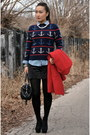 Zara-shoes-banana-republic-coat-llbean-signature-sweater-jcrew-shirt