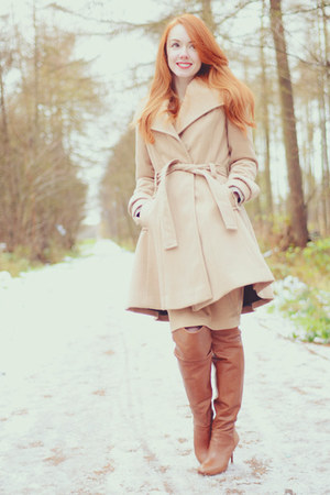 Primark coat - Zara boots