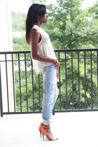 H&M blouse - Zara heels