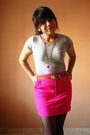 Silver-trf-t-shirt-pink-sigarasi-shophop-skirt-black-unknown-stockings-pur