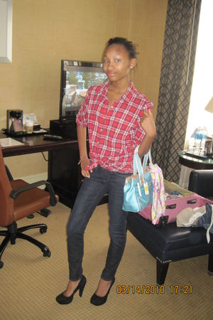 blouse - jeans - shoes