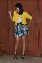 lookingforlolablogspotcom jacket - top - Topshop belt - forever 21 skirt - Charl