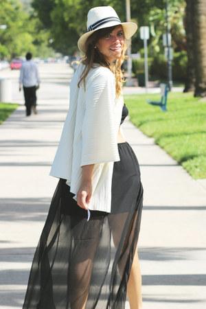 Sheer Maxi Skirt skirt