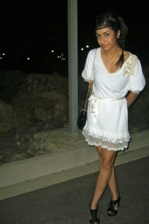 boutika dress - Sportsgirl shoes - flea market purse - diva accessories
