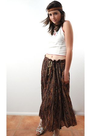 Passport top - albini skirt - christian lacroix espadrille shoes