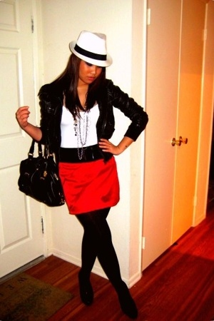 Wet Seal hat - H&M shirt - jacket - forever 21 accessories - Charlotte Russe ski