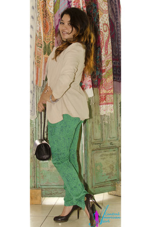 green Menta y Lila pants