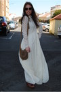 Ivory-zara-dress-brown-zara-bag-dark-brown-zara-wedges