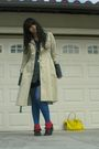 Beige-coat-gray-blouse-black-skirt-blue-dkny-tights-red-socks-yellow-a