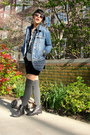 Urban-outfitters-t-shirt-uo-boots-thrifted-jacket-vintage-shirt-uo-socks