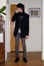 Black-ys-by-limi-coat-black-julius-cardigan-white-rick-owens-top-gray-apri