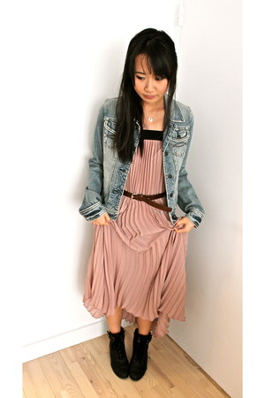 maxi skirt Vivienne Tam skirt - denim abercrombie and fitch jacket