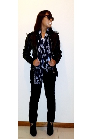 flesh imp jacket - Mango jeans - f21 boots