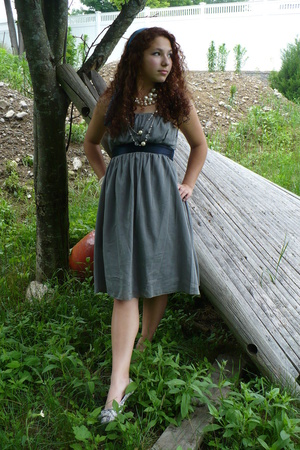 Gap dress - necklace - necklace - Gap shoes