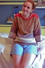 Color-block-old-navy-sweater-casual-chic-ralph-lauren-shorts