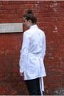 Alexander-wang-shirt-straight-leg-jil-sander-pants-knot-burberry-heels