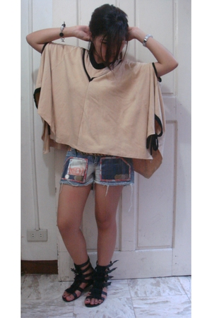 pier rat coat - G&G shorts - shoes