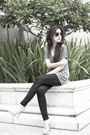 Gray-forever21-blouse-beige-brian-atwood-shoes-black-rayban-sunglasses