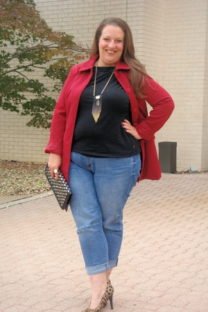kohls bracelet - Old Navy jeans - Target blazer - The Limited necklace