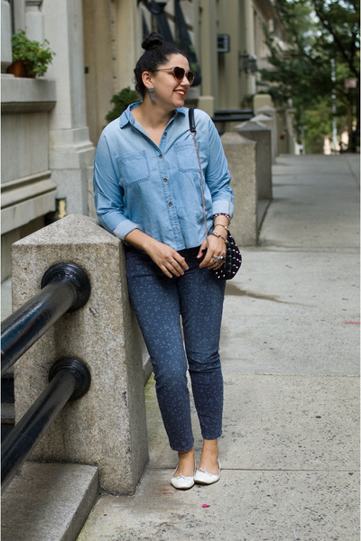 Repetto shoes - Current Elliott jeans - Zara bag - Urban Outfitters sunglasses
