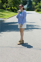 Stephanie Lians Closet necklace - Aldo shoes - Comptoir des Cotonniers shorts