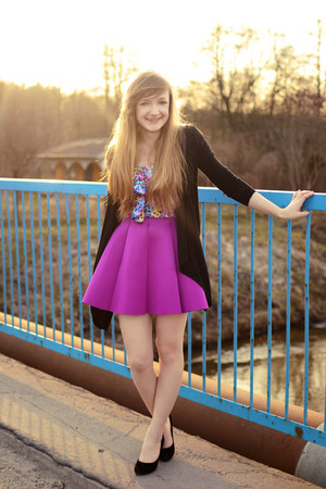 amethyst Choies skirt