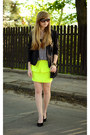 Lime-green-choies-skirt