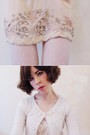 Mink-pink-coat-forever-new-top-embellished-forever-new-skirt
