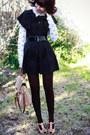 Black-cape-revival-jacket-ivory-zara-inspired-shirt