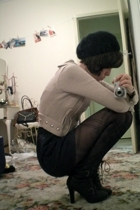 Sportsgirl jacket - American Apparel skirt - Forever New tights - Ugly Duckling