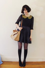 Black-mavi-rubi-shoes-wedges-navy-silk-tba-dress-navy-sailor-vintage-coat