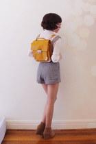 mustard Forever New bag - camel seega rubi boots