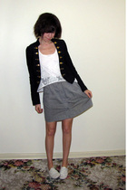 Valleygirl jacket - Valleygirl top - Sportsgirl skirt - Steve Madden shoes