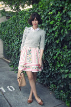 bubble gum shes so cute Alannah Hill skirt - white Forever New shirt