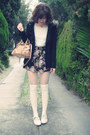 Navy-forever-new-coat-peach-mini-bow-bag-miu-miu-bag-navy-floral-forever-new