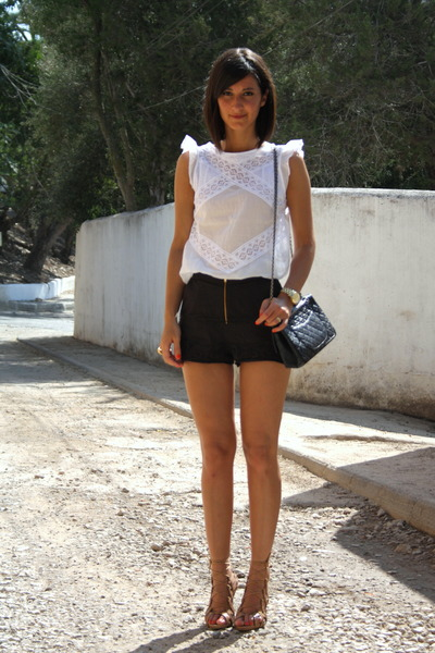 lace top Maje top - Maje shorts