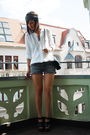Zara-blouse-zara-shorts-zara-shoes