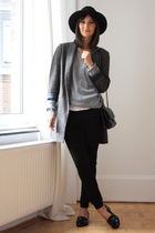 Massimo Dutti coat - Zara pants