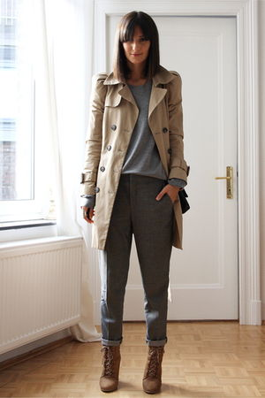 Zara coat - Zara pants