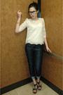 White-forever-21-blouse-blue-jcrew-jeans-black-charlotte-russe-shoes-gold-