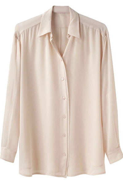 chiffon crepe GoodNight Macaroon shirt