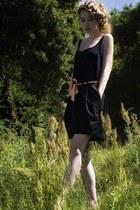 long cardigan Little black dress top