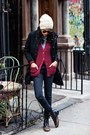 Black-g-star-coat-navy-levis-jeans-brick-red-urban-outfitters-cardigan